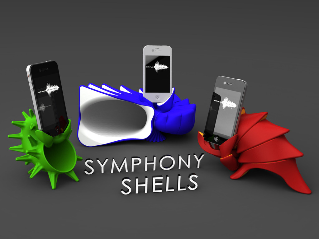 SYMPHONY SHELLS - iPhone Amplification for Your Lifestyle's video poster