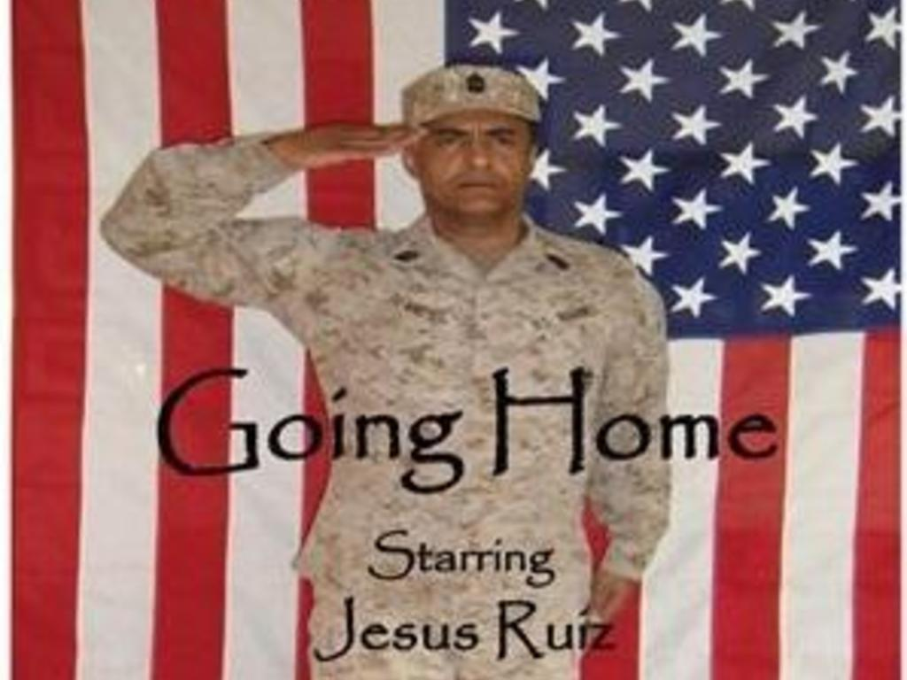 """""""Going Home"""", What all military personnel wish for, but ...'s video poster"""