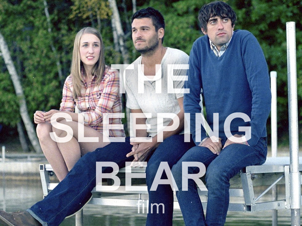 The Sleeping Bear: half of a great movie's video poster