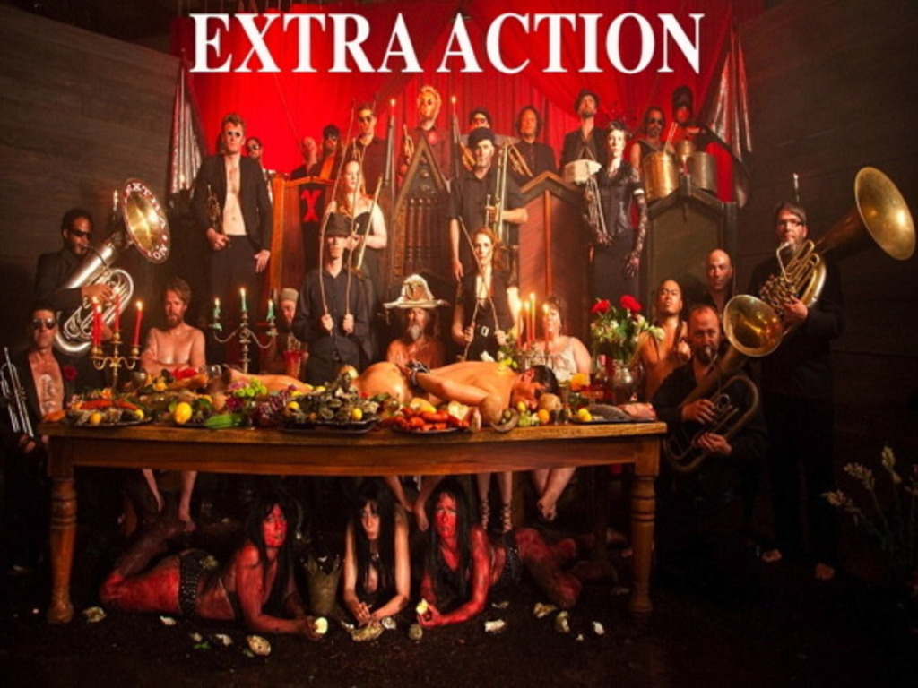 Extra Action Marching Band and the SXSW Adventure!'s video poster