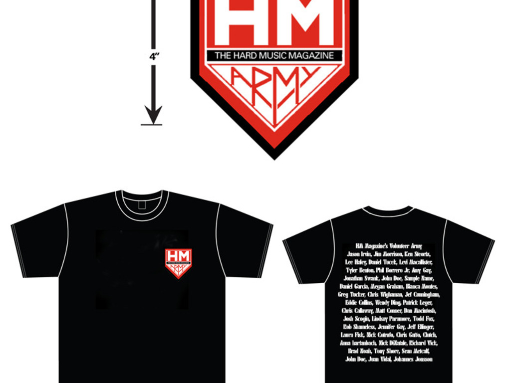 HM Magazine (HM Army) Shirt's video poster