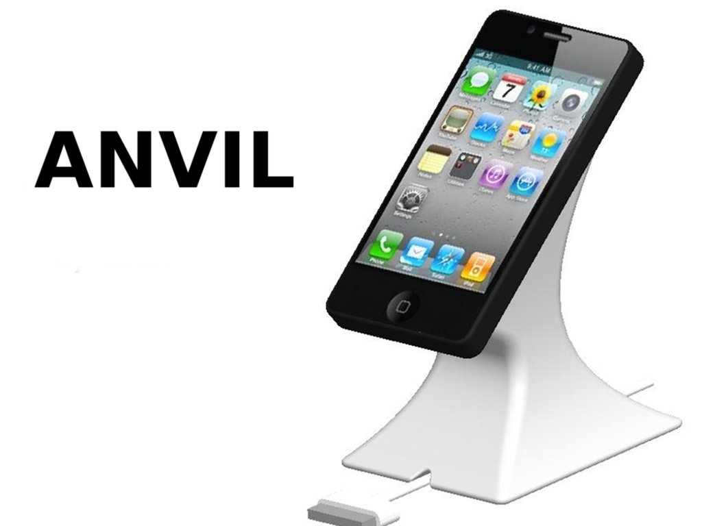 Anvil, the Rock-Solid iPhone Stand's video poster