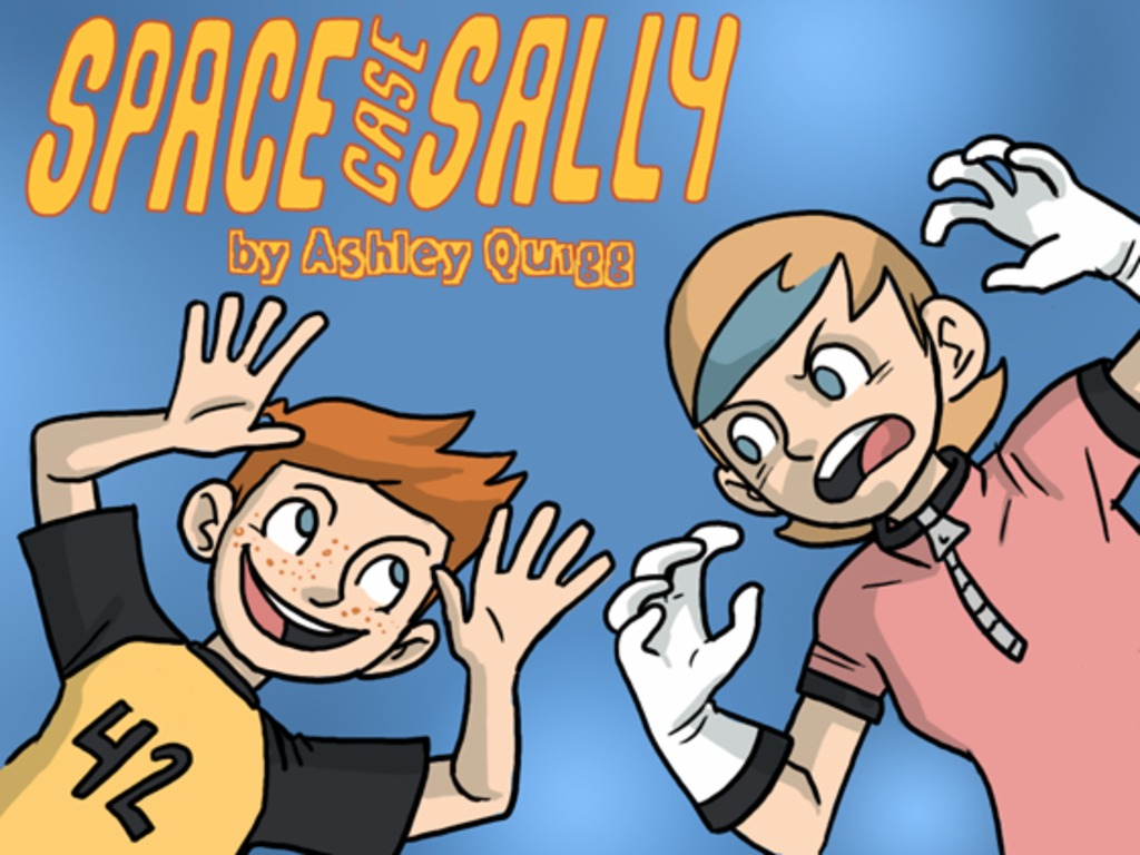 Space Case Sally and Purloined Pest!'s video poster