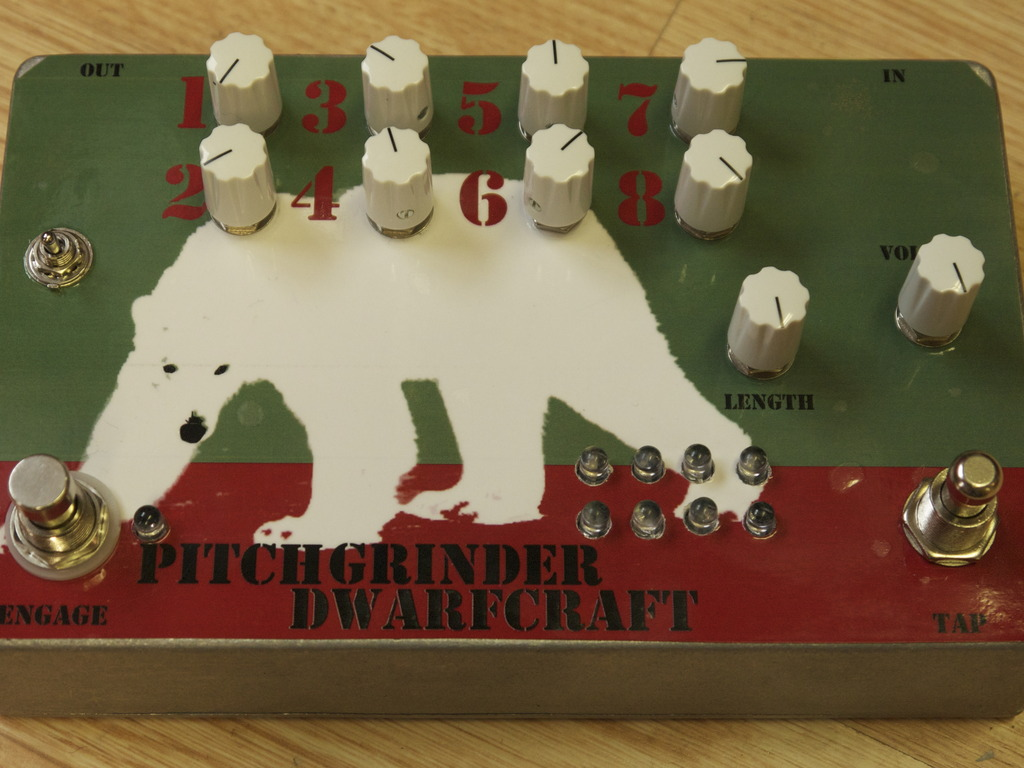 PITCHGRINDER - An 8 Step Sequenced Pitch Shifter's video poster