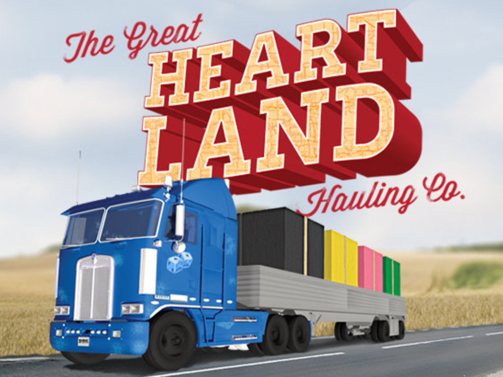 The Great Heartland Hauling Co: A card game for 2-4 truckers's video poster