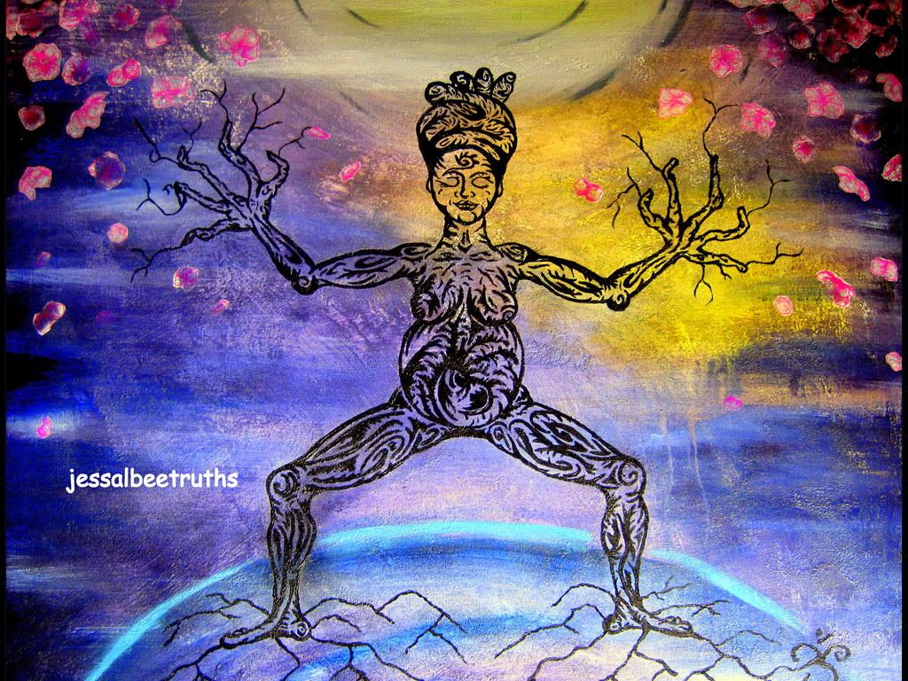 """Yoga Tree"" Goes International: The Yoga Show, LONDON's video poster"
