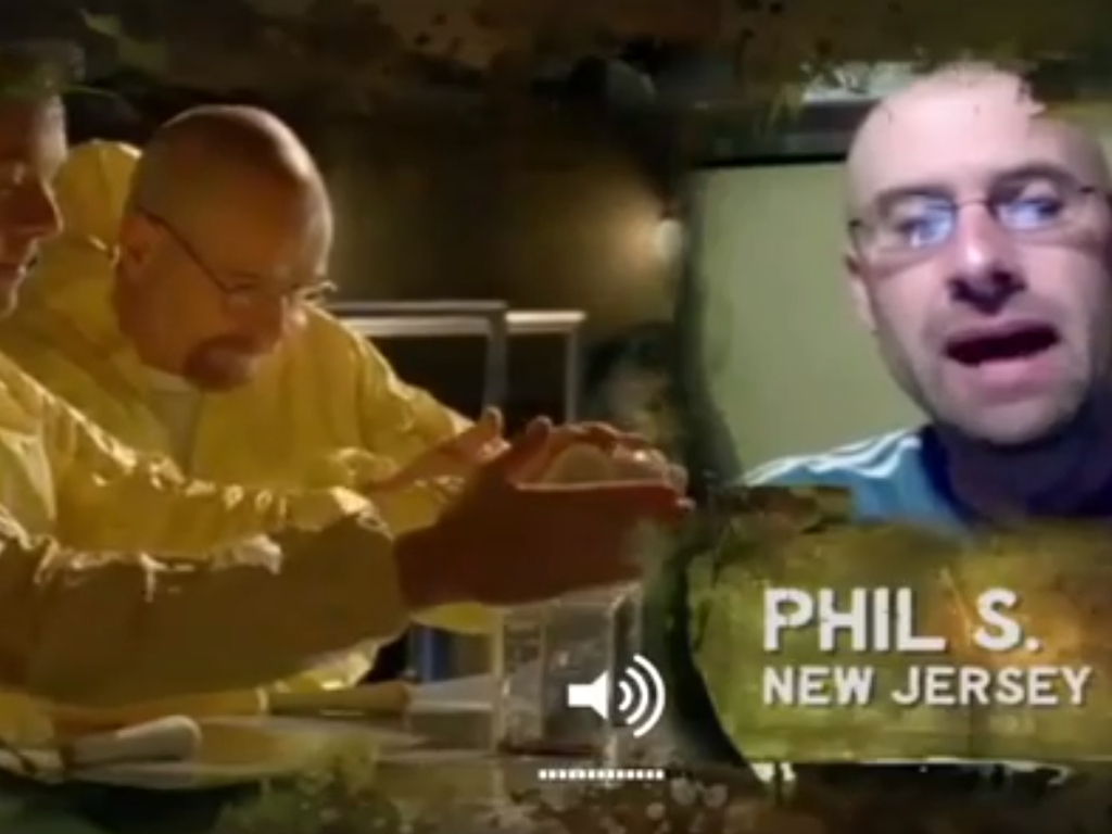 Breaking Bad: The Book's video poster