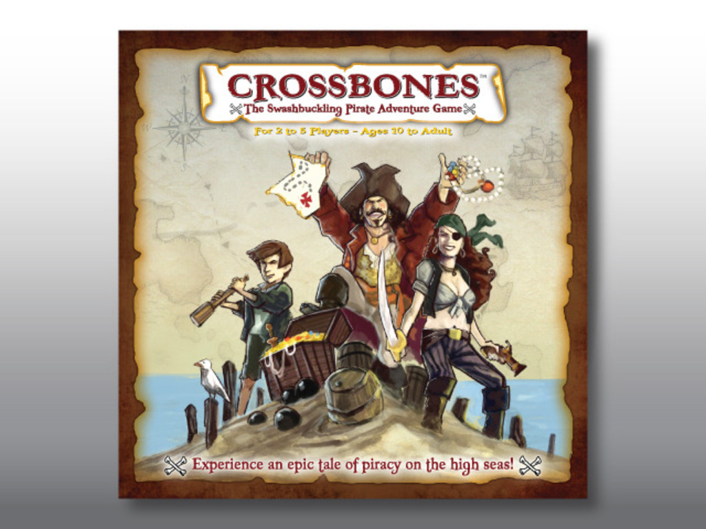 Crossbones: The Swashbuckling Pirate Adventure Game's video poster