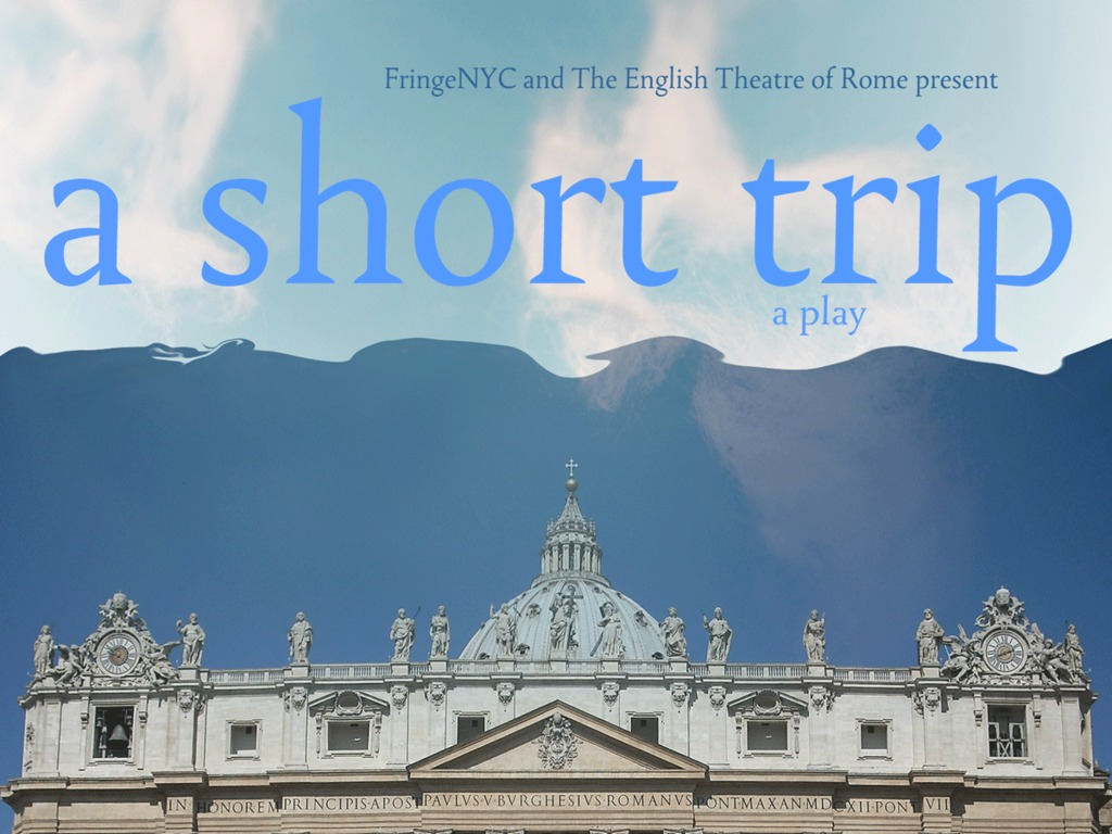 """A Short Trip"" at FringeNYC's video poster"