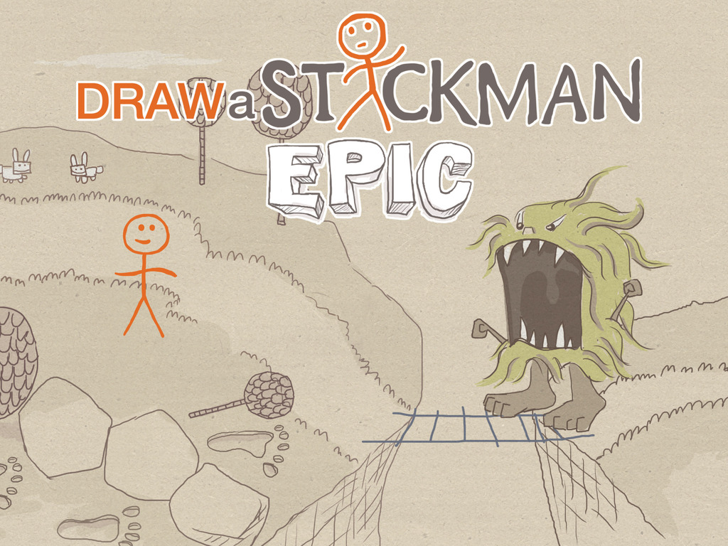 Draw a Stickman Epic's video poster
