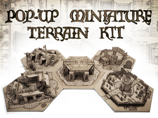 Pop-Up Miniature Terrain Kit