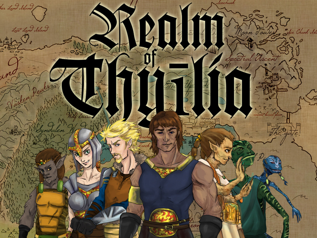 The Realm of Thyïlia - A revival of classical Role-Playing's video poster