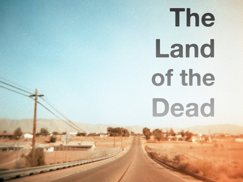 "Support the short film ""The Land of the Dead""'s video poster"