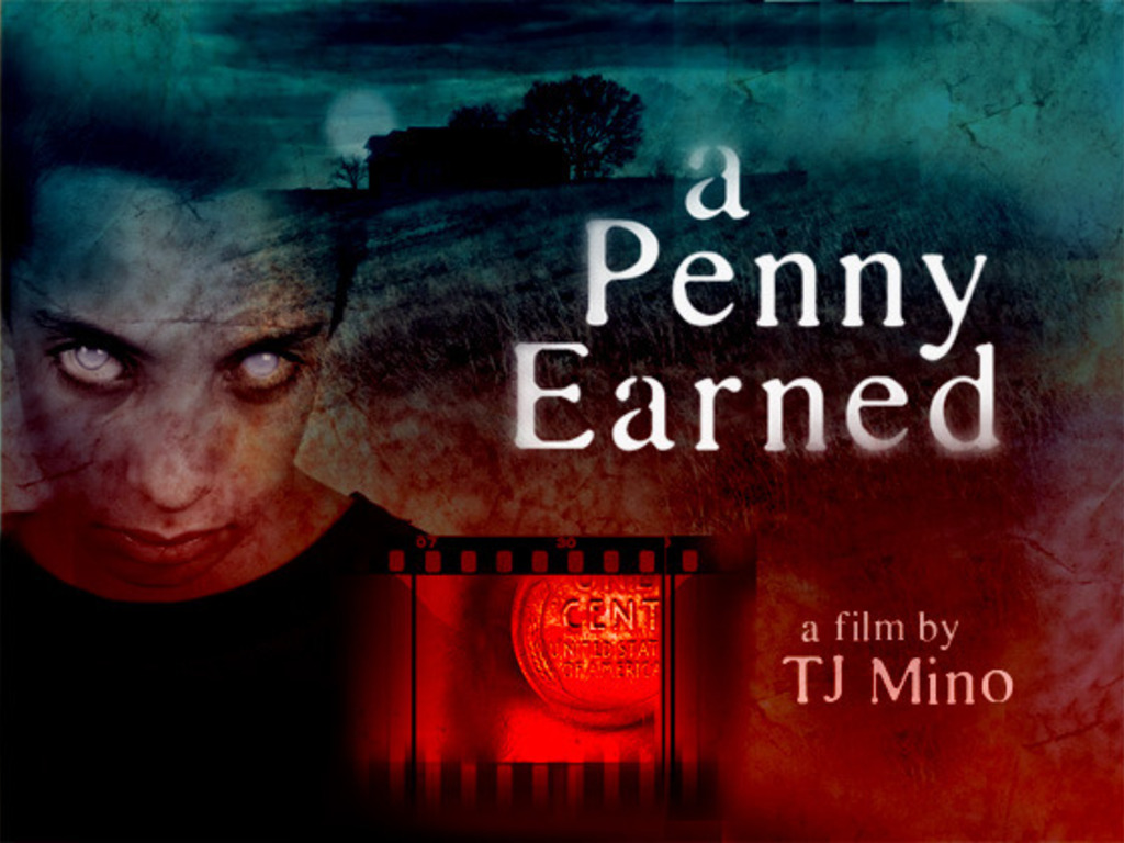 """""""A Penny Earned"""" - short film's video poster"""
