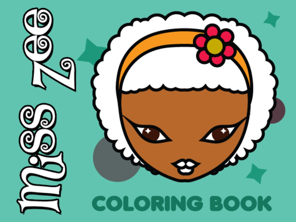 The Miss Zee Coloring Book Project's video poster