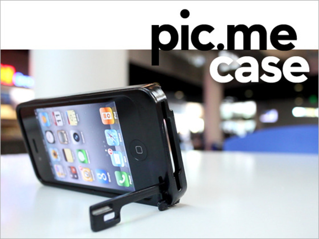 "The ""pic.me"" iPhone 4 Tripod Case's video poster"