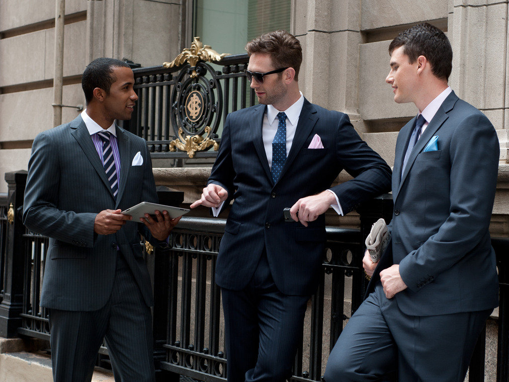 Fine custom suits & shirts for the discerning man's video poster