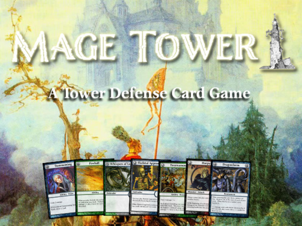 Mage Tower, A Tower Defense Card Game's video poster