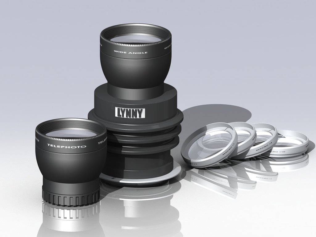 The Creative, Amazing Special Effects SLR/DSLR Camera Lens's video poster
