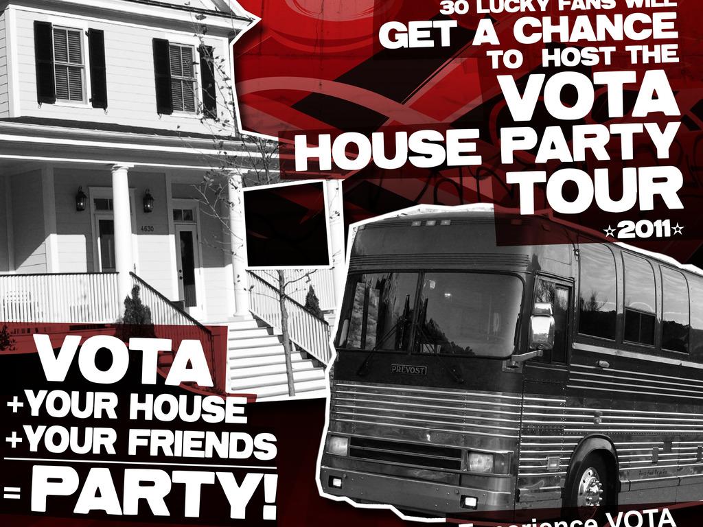 VOTA House Party Tour Contest for Jade Winterhalder's video poster