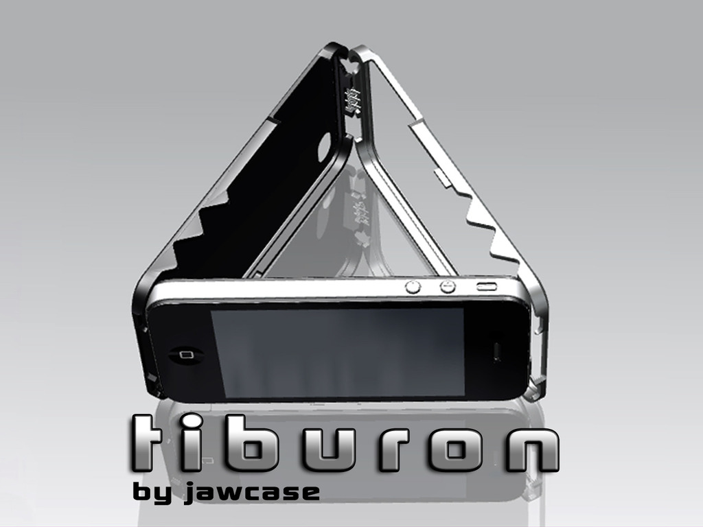 Jawcase Tiburon: Aluminum iPhone 4 case, tripod & stand.'s video poster