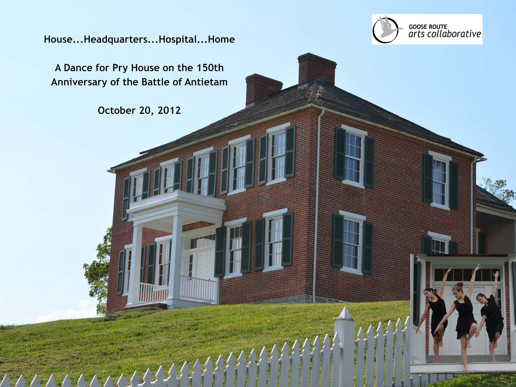 """""""Off Stage/On Site"""" Performance at Pry House, Civil War Site's video poster"""