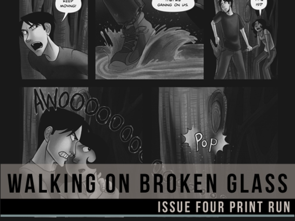 Walking on Broken Glass Issue 4 Print Run's video poster