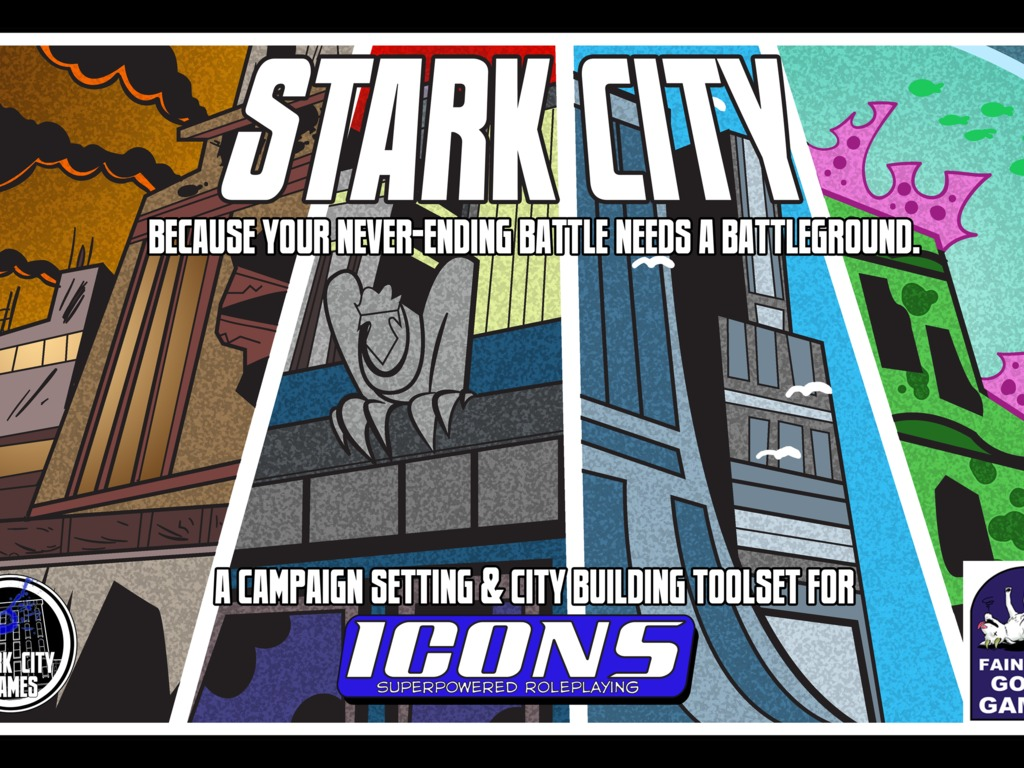 Stark City: Setting and City Building Toolkit for ICONS RPG's video poster
