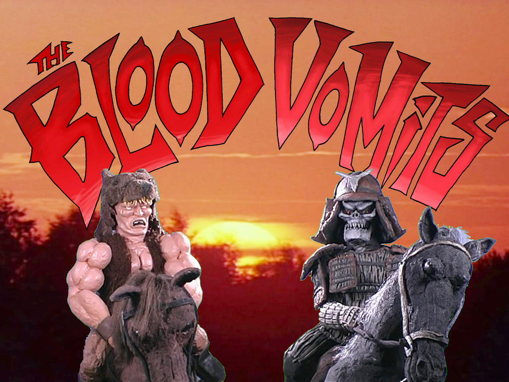 """The Blood Vomits-""""a very good man""""'s video poster"""