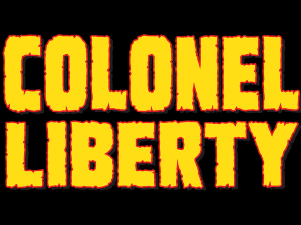 COLONEL LIBERTY - a short film's video poster