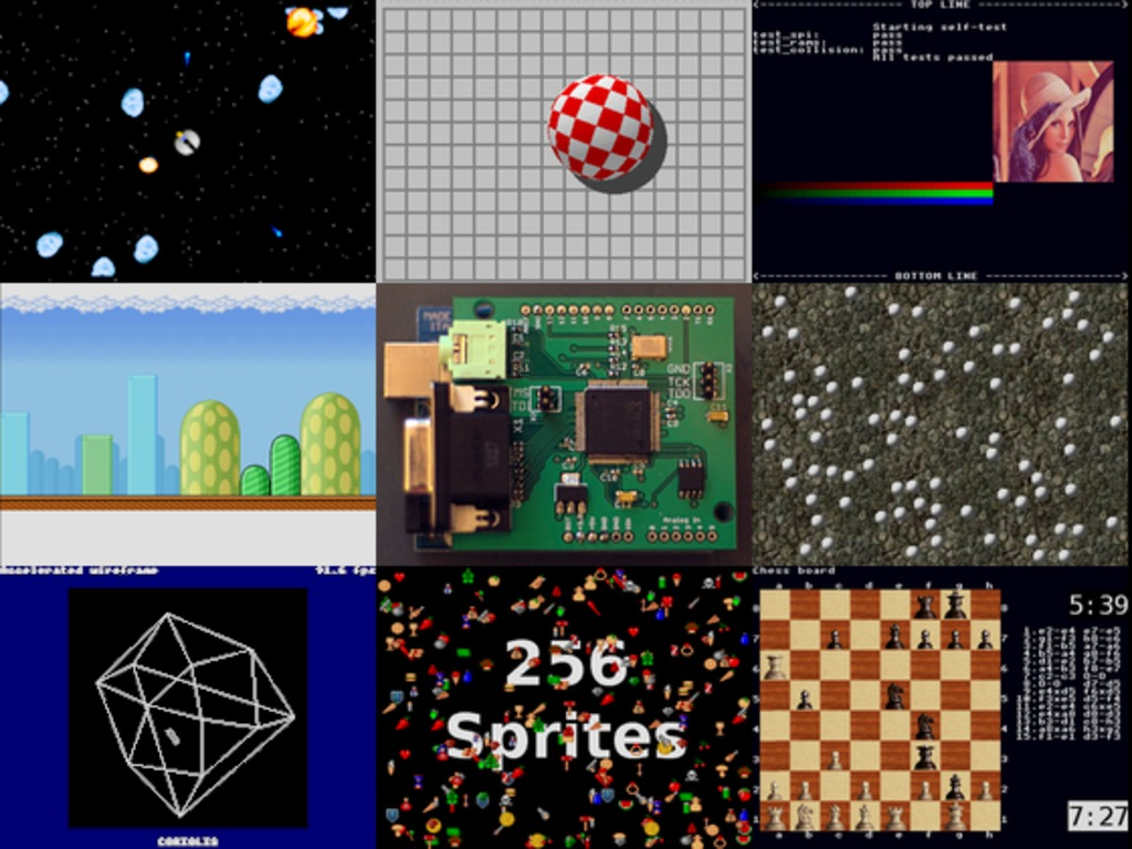 Gameduino: an Arduino game adapter's video poster