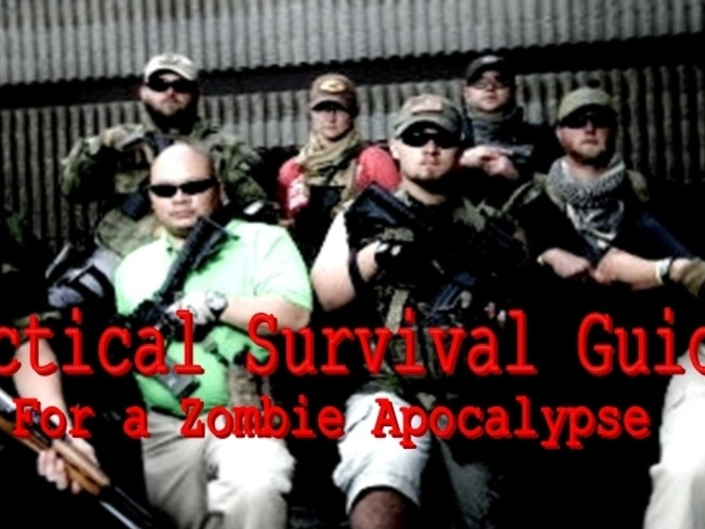 TACTICAL SURVIVAL GUIDE: For a Zombie Apocalypse's video poster