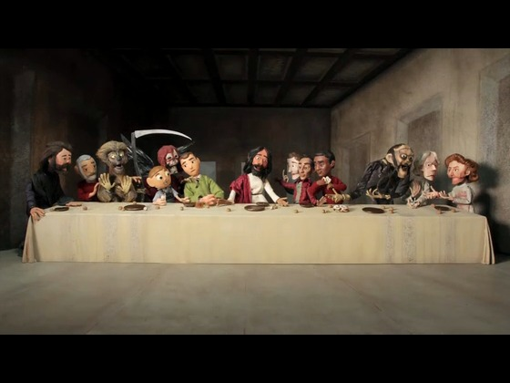 Charlie Kaufman's Anomalisa's video poster