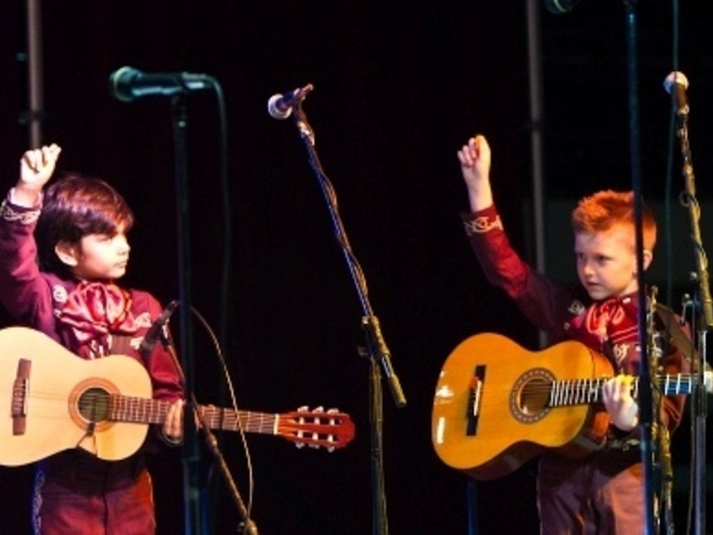 Mariachi Infantil's First CD's video poster