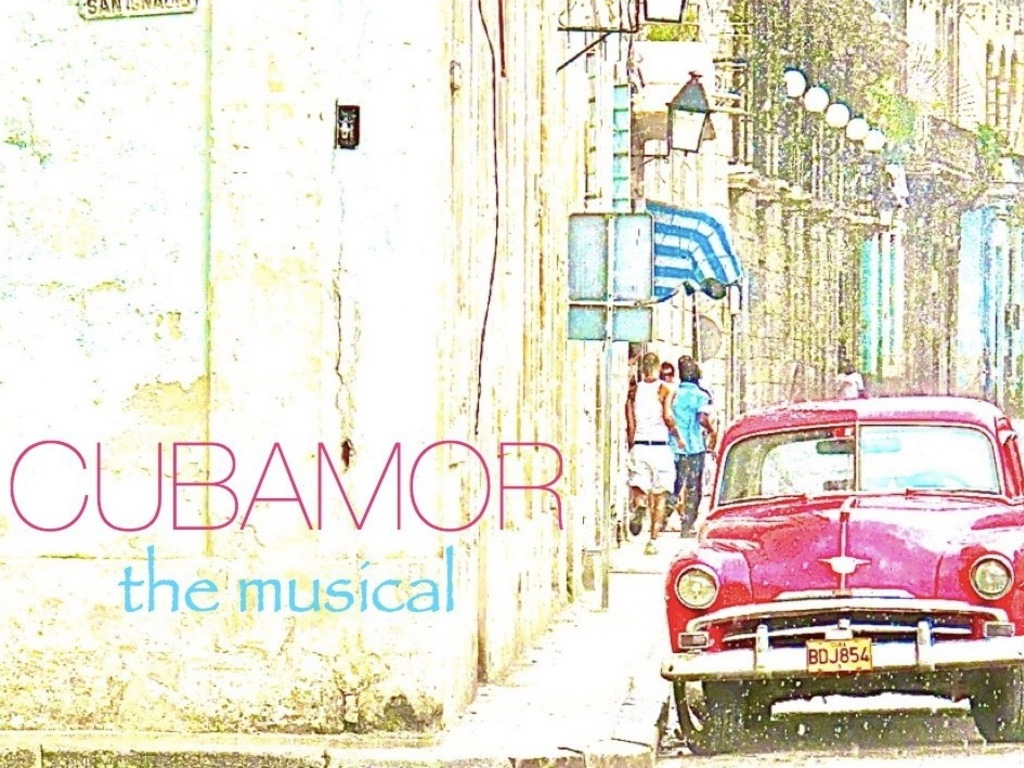 CUBAMOR the musical's video poster