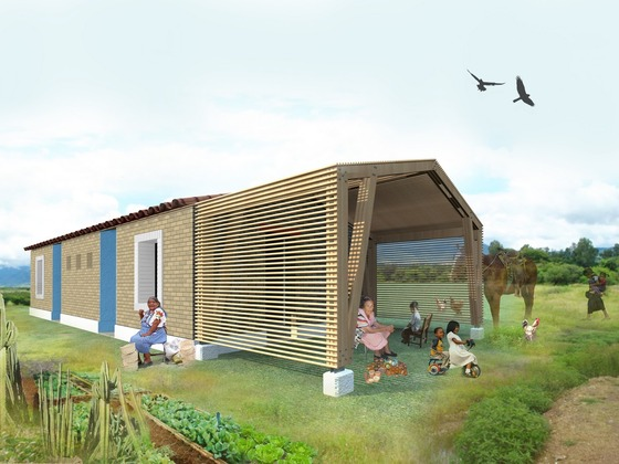 kickstarter green housing in rural Mexico