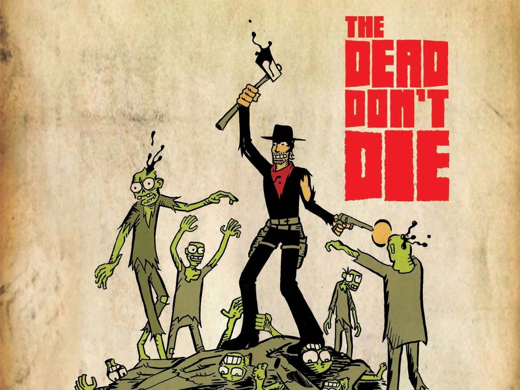 THE DEAD DON'T DIE's video poster