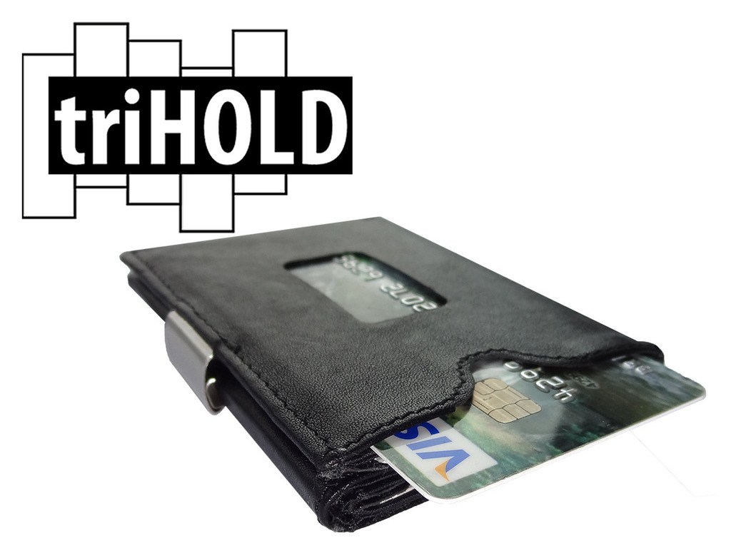 triHOLD: The No-Compromise Compact Front-Pocket Wallet's video poster