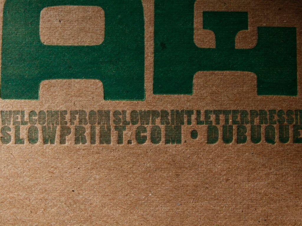 Creative Dubuque Letterpress Post Card Series's video poster