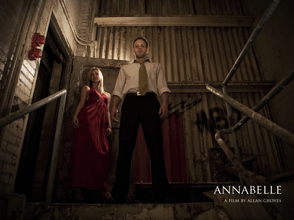 Annabelle: A short film's video poster