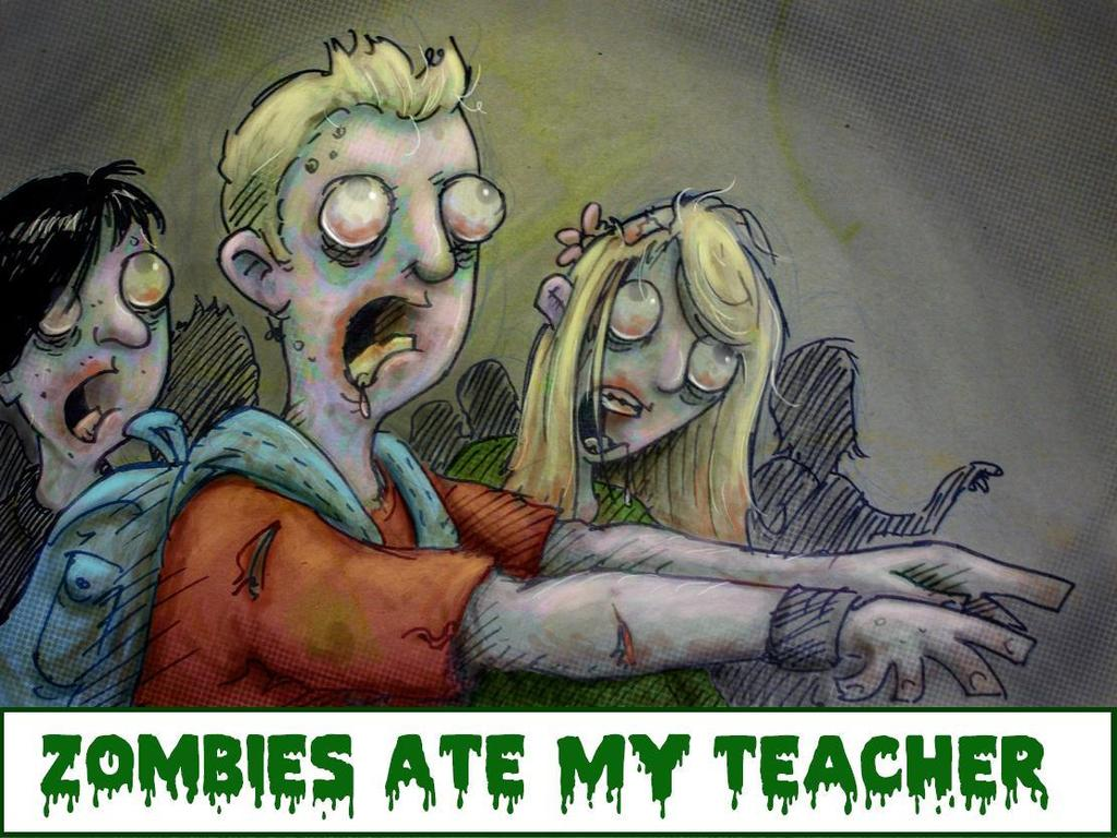 Zombies Ate My Teacher - Interactive eBook's video poster