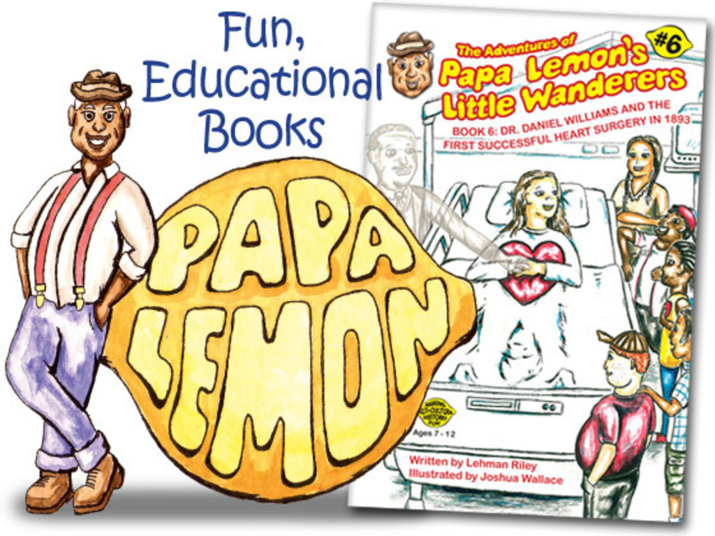 Papa Lemon Book 6: The First Successful Heart Surgery's video poster