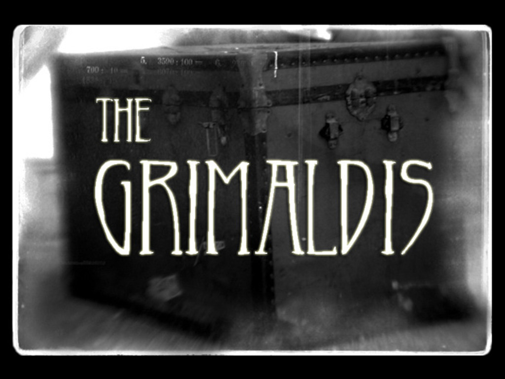 The Grimaldis: a musical ghost story.'s video poster