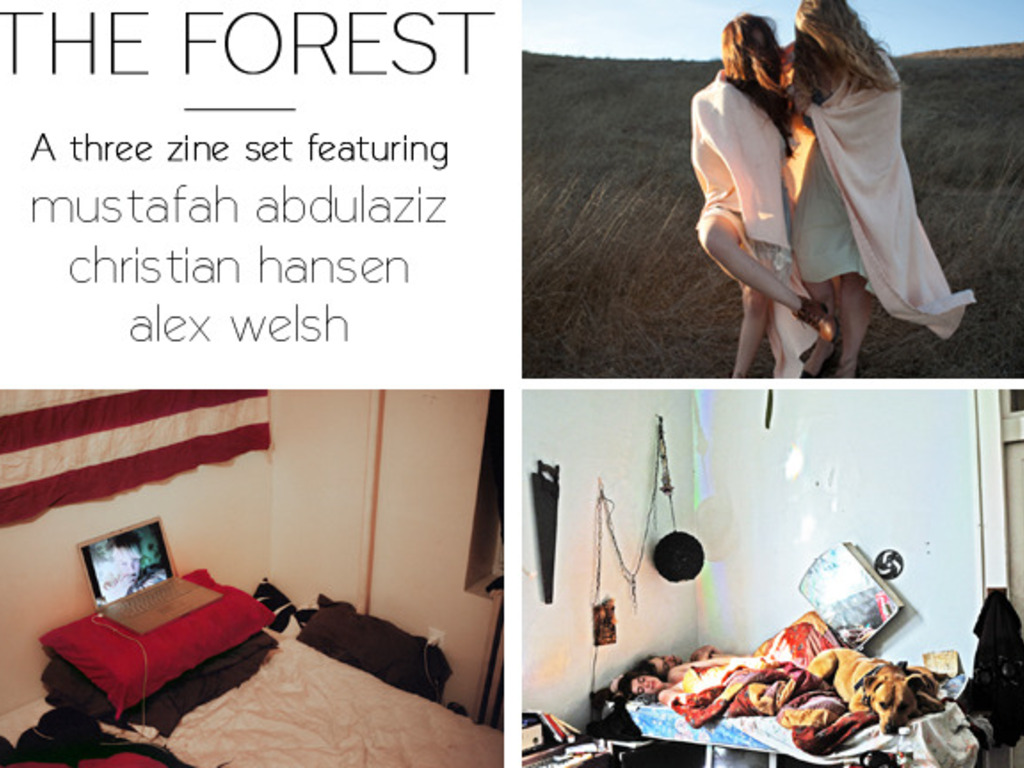 The Forest Zine's video poster