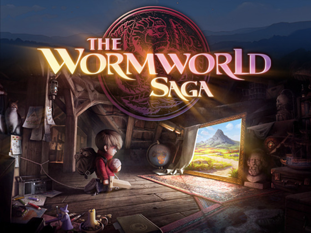 The Wormworld Saga App's video poster