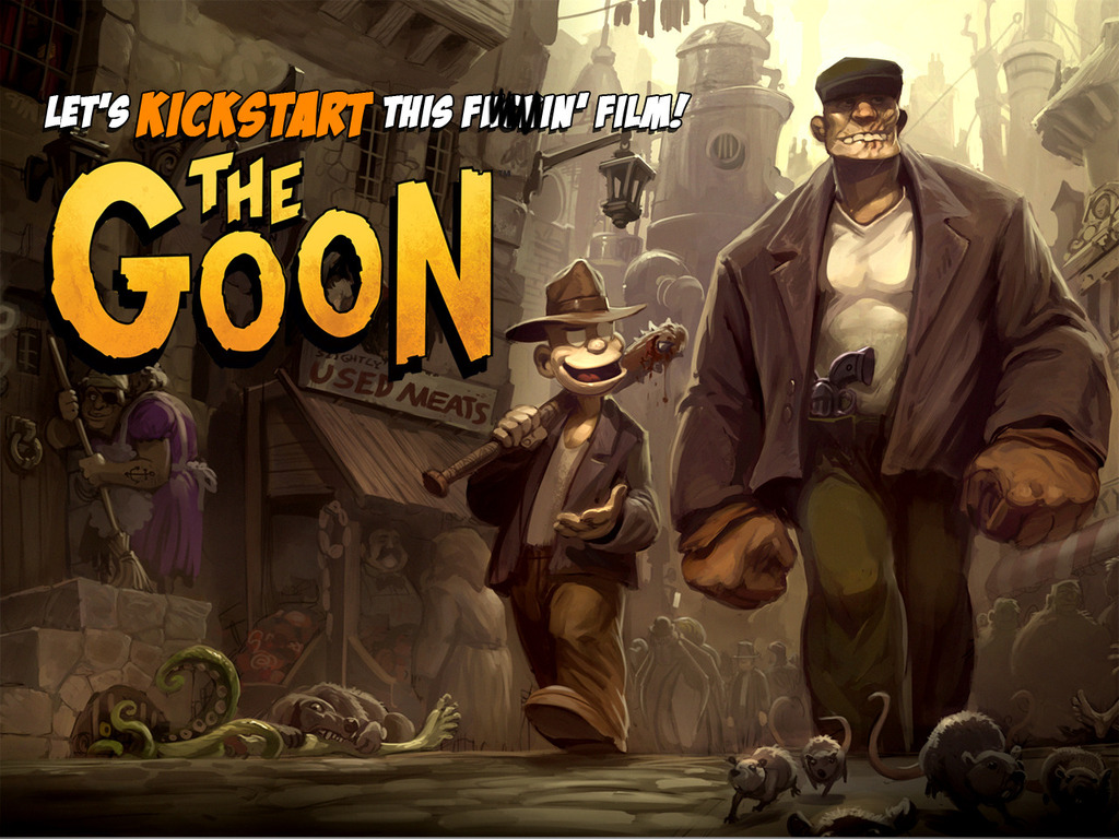 """The Goon"" Movie... let's KICKSTART this sucker!!!'s video poster"