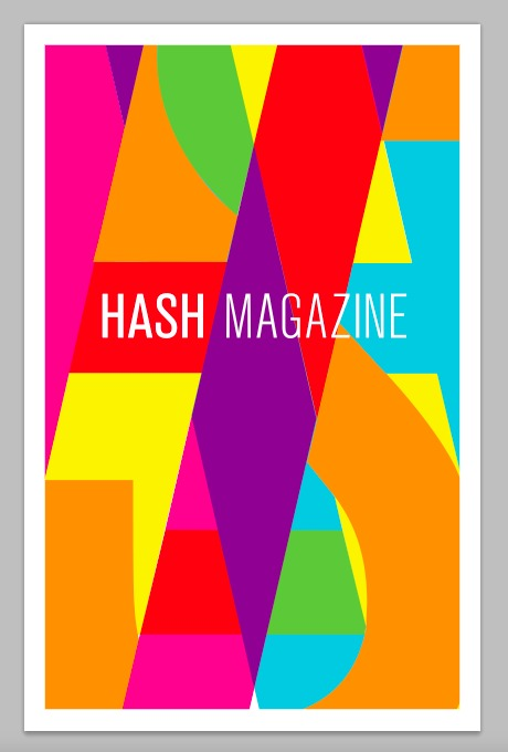 draft of hash poster
