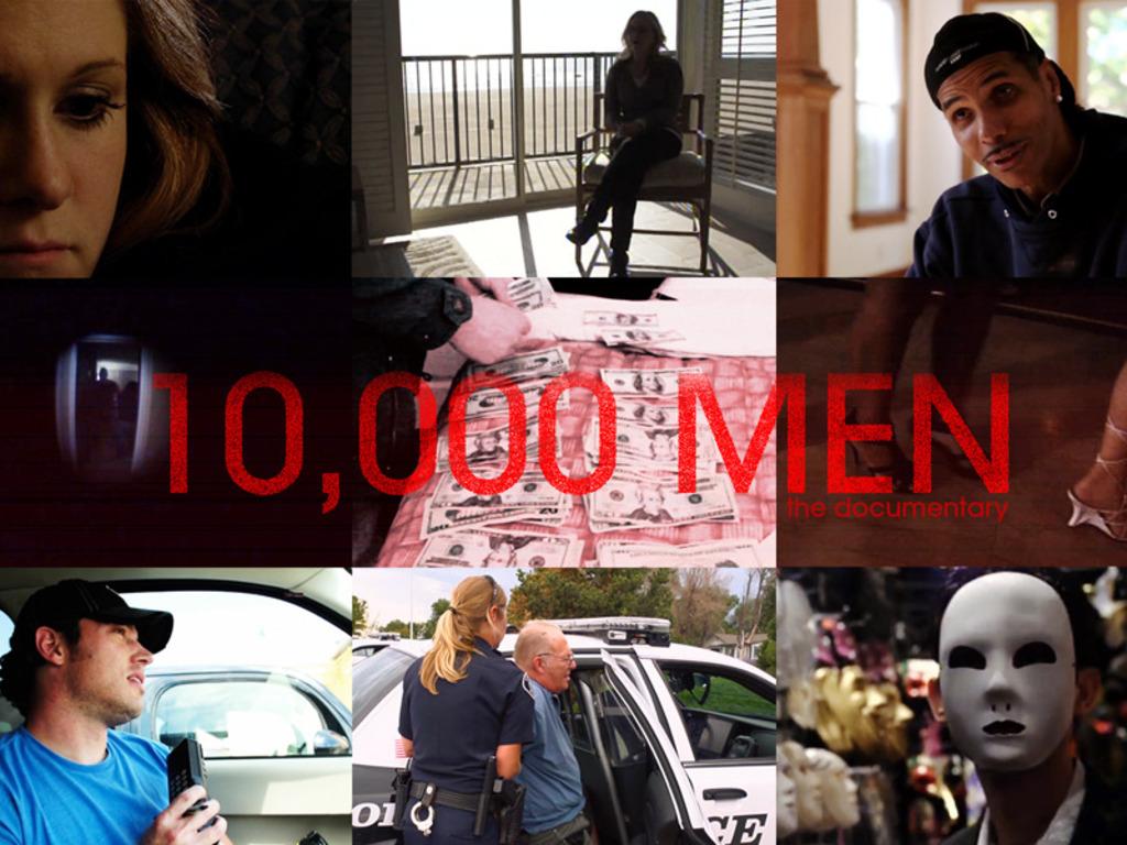 10,000 MEN's video poster