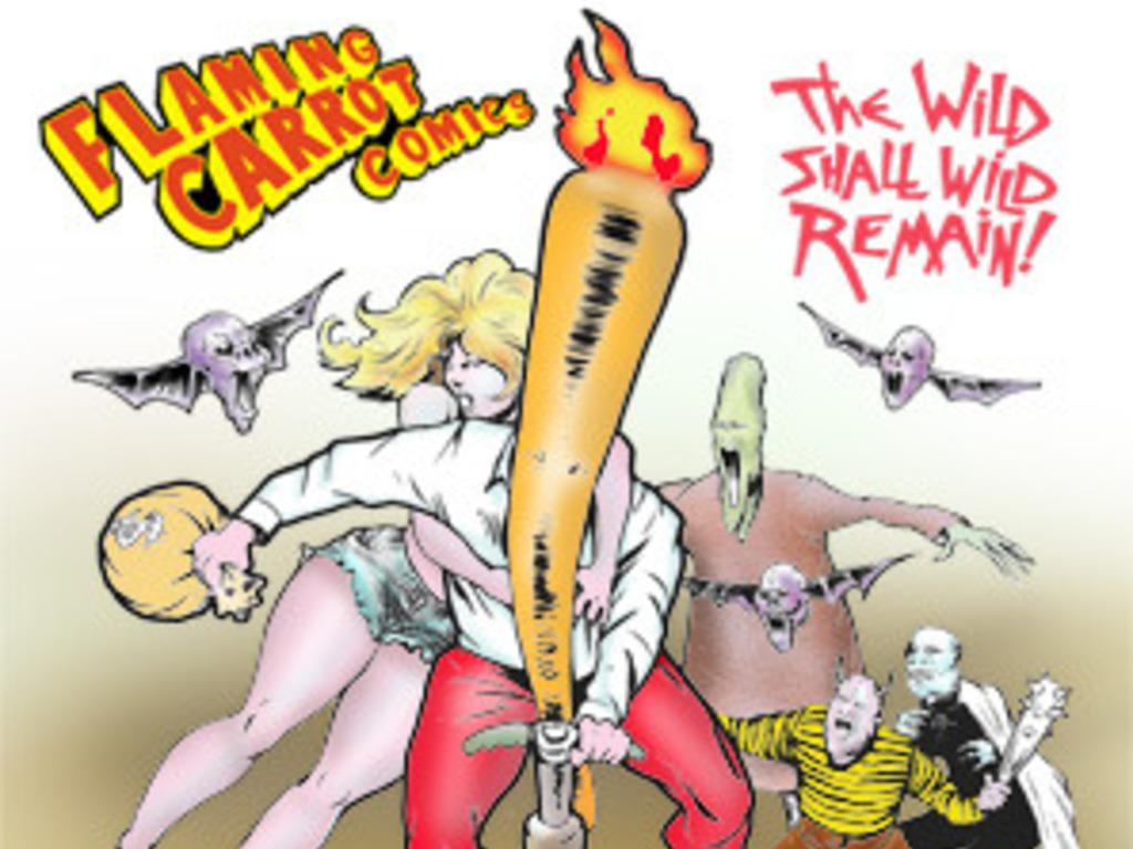 Flaming Carrot Hardback & Digital Comics's video poster