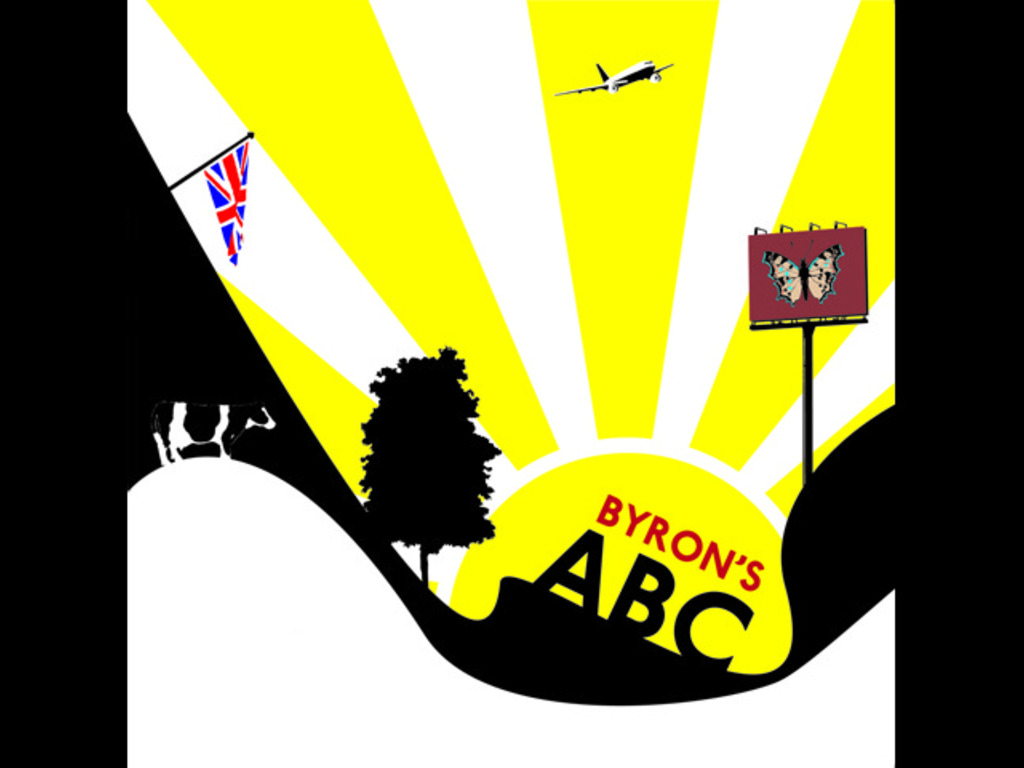 Byron's ABC book's video poster
